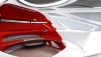 Innenraum des Mercedes Vision Urbanetic