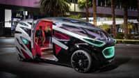Mercedes Vision Urbanetic mit offener Tür