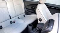 Die Rücksitze des neuen Mini Electric Elektro Auto