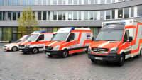 Rettungswägen des MKT Ambulanz Service