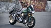 Motorrad-Neuheiten 2022 hier die V1oo Mandello von Moto Guzzi