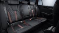 Die Rücksitzbank des Skoda Octavia Modell 2019 2020