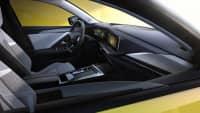 Opel Astra von innen