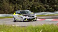 der Rally Opel Corsa-e auf dem Testgelände