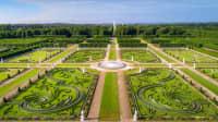 Luftaufnahme der Herrenhäuser Gärten