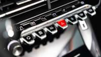 Schalter des Peugeot 2008