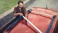 Dachträger des Renault Kangoo