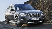 BMW X1 offroad fahrend