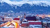 Stadtpanorama von Innsbruck