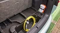 Der Kofferraum des Skoda Enyaq