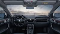 Blick in den Fahrerraum des Skoda Kodiaq