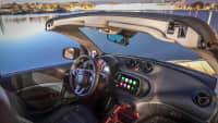 Cockpit vom Smart Cabrio