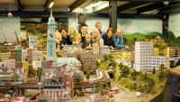 Innenstadt von Hamburg im Miniatur Wunderland