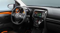Toyota Aygo X-Cite Detail des Assistenzsystems