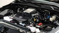 Motor des Toyota Hilux