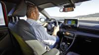 Redakteur Jochen Wieler fährt den Toyota Yaris