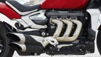 die Reihendreizylinder der Triumph Rocket 3 R