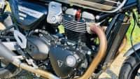 der Motor der Triumph Speed Twin
