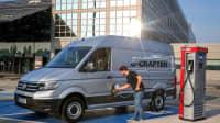 VW e-Crafter wird geladen