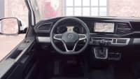 Cockpit eines VW Multivan T6