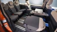 Rückbank des VW Multivan T7