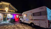 Wohnmobil Dinner zu Corona Lockdown Zeiten