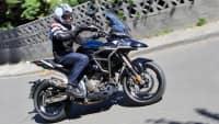 Das Motorrad Zontes 310 T wird vorgestellt