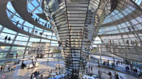 Reichstagskuppel von innen