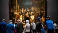 im Rembrandmuseum in Amsterdam
