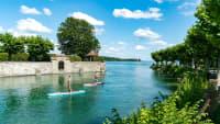 SUP auf dem Bodensee bei Konstanz