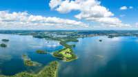Luftaufnahme des Großen Plöner Sees