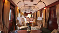 Ein privates Abteil im Rovos Zug in Afrika