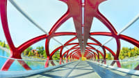 Pace Bridge in Calgary