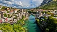 Brücke Stari Most in Bosnien