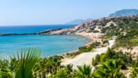 der Paradise Beach auf der Insel Kos