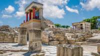Berühmter minoischer Palast von Knossos