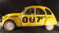 Gelbe Ente aus einem James Bond Film
