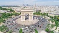 Arc de Triomphe am Charles de Gaulle Platz
