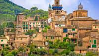 Die Stadt Valldemossa auf Mallorca