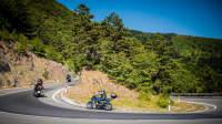 Motorradfahrer in Kroatien