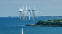 Offshore Windpark erzeugt Strom aus regenerativer Quelle