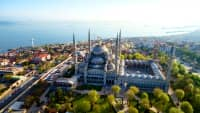 Luftaufnahme von Istanbul
