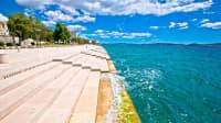 Meeresorgel am Ufer von Zadar