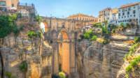 Blick auf die Brücke von Ronda