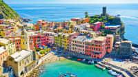 Blick auf die Cinque Terre in Italien