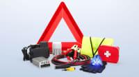 Notfallausrüstung für das Auto