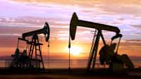 Tiefpumpe bei der Ölförderung