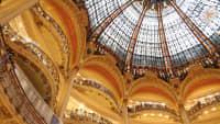 Kuppel im Kaufhaus Lafayette in Paris
