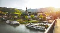 Cochem liegt an einem der schönsten Radwanderwege Europas, dem Moselradwegdem Moselradweg