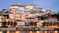 Ein Bild von Coimbra in Nordportugal zur Blauen Stunde3
